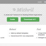 Mithril – 构建杰出 Web 应用的 JS MVC 框架-小李子的blog