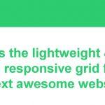 推荐10个创建响应式布局的网格框架-小李子的blog