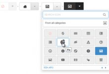 fontIconPicker – 优雅的 jQuery 字体图标选择-小李子的blog