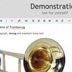 Trumbowyg – 轻量的 WYSIWYG 编辑器-小李子的blog