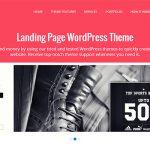 40个美丽的着陆页WordPress主题模板素材-小李子的blog