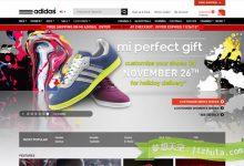 优秀案例:20个销售顶级名鞋的电子商务网站-小李子的blog