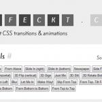 Effeckt.css – CSS3 Transitions & Animations 精妙应用-小李子的blog