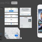 Teehan & Lax 发布 iOS 7 GUI PSD 模板,免费下载-小李子的blog